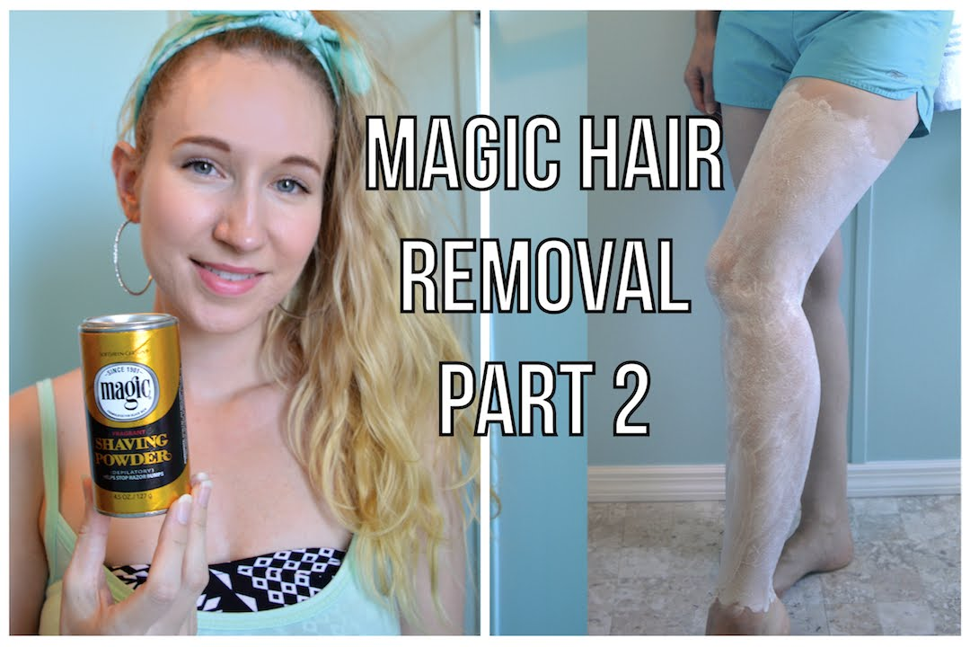 My Secret To Magic Hair Removal Youtube
