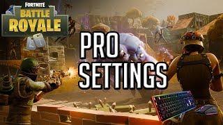 PRO PLAYER SETTINGS GUIDE – Fortnite Battle Royale