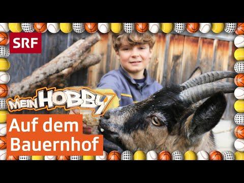 Andrin und seine Bauernhoftiere | Mein Hobby