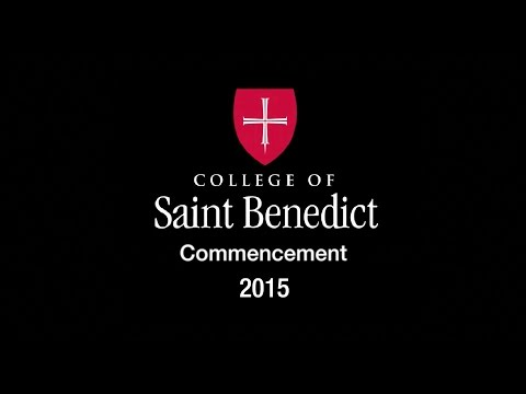 College of Saint Benedict Commencement 2015