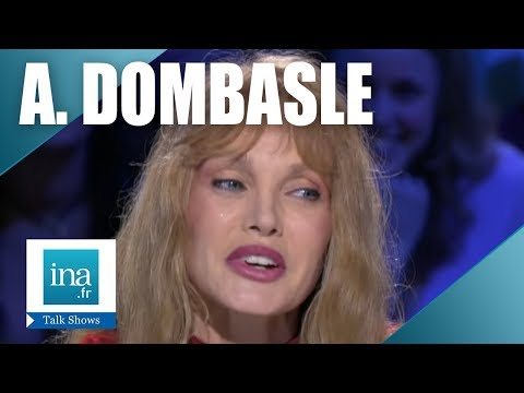Interview upside down Arielle Dombasle - Archive INA