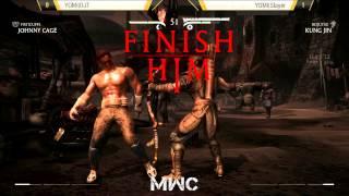 MWC - Yomi | DJT ( Johnny/Kenshi ) vs Yomi | Slayer ( Kung Jin ) // MKX