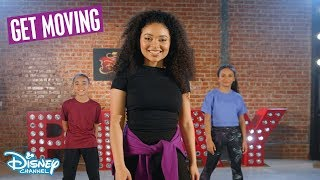 Good To Be Bad Dance Tutorial 🕺| Descendants 3| Disney Channel UK