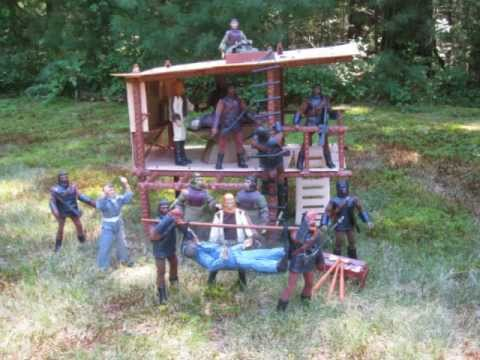 Planet Of The Apes Treehouse by Mego - YouTube