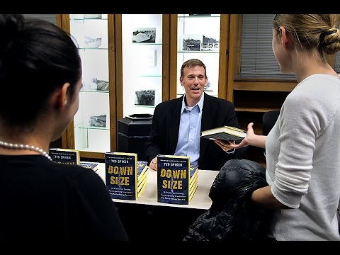 Ted Spiker speaks at Smathers Libraries' Campus Conversations