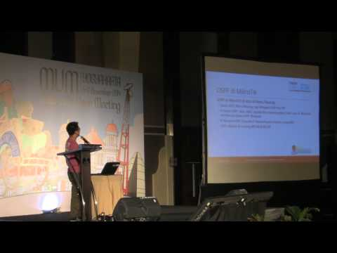 MUM Indonesia 2014: OSPF Over Tunnel With Dynamic IP
