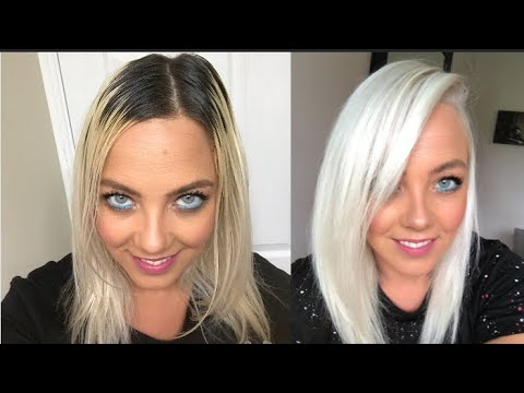HOW TO | DIY | ICY WHITE PLATINUM BLONDE | NO DAMAGE | USING