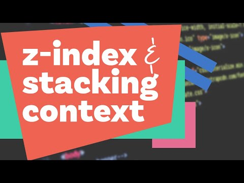 CSS Z-Index and Stacking Context