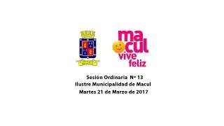 Concejo Municipal de Macul 21-03-2017