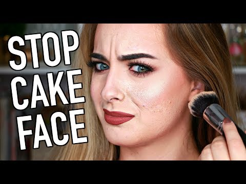 How to STOP Cakey Foundation | Smooth Full Coverage Foundation