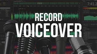 Video How To Record A Voice Over - Adobe Audition CS6 Tutorial download MP3, MP4, WEBM, AVI, FLV April 2018