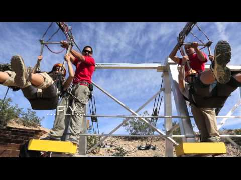 Things to do in Las Vegas; FlightLinez Bootleg Canyon