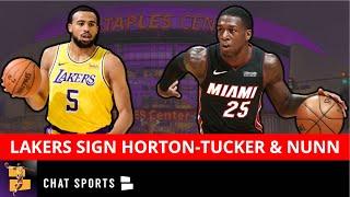 Talen Horton-Tucker Signing With Los Angeles Lakers In NBA Free Agency + Kendrick Nunn Heading To LA