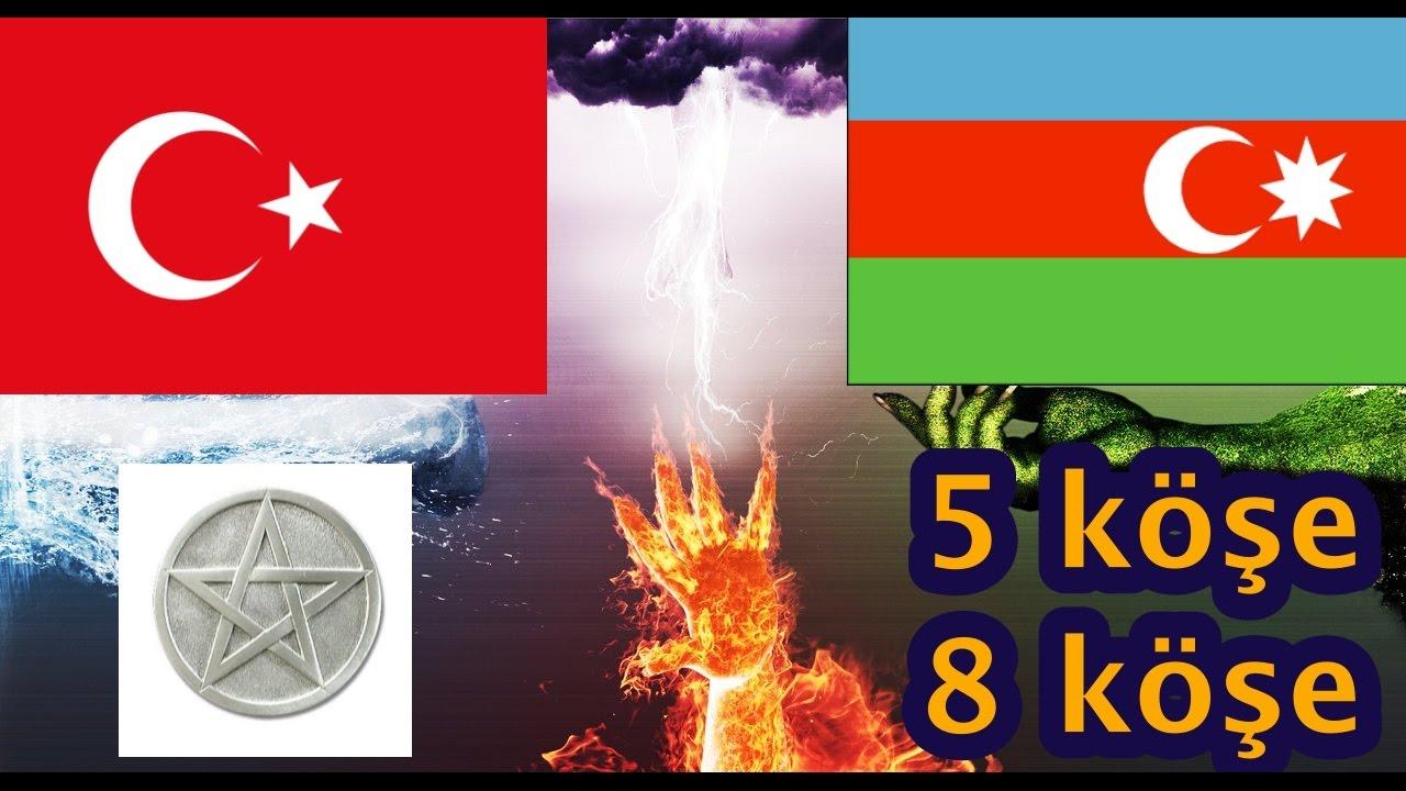 Neden Türkiye Yıldızı 5 Azerbaycan Yıldızı 8 Köşeli ?