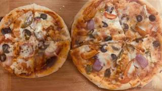 PIZZA WITH OUT OVEN PIZZA IN PRESSURE COOKER