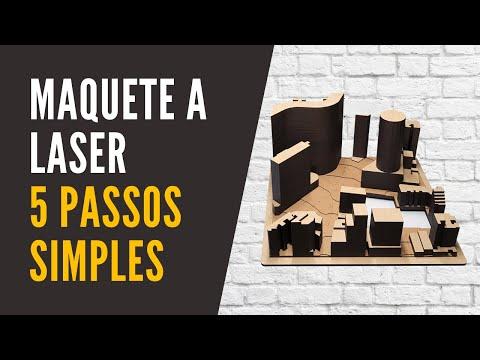 maquete de entorno: 5 passos para o Corte a laser
