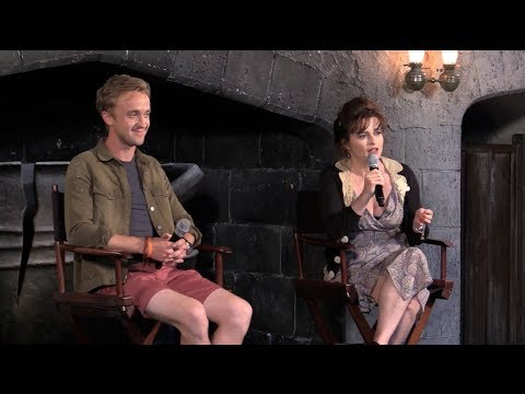 Diagon Alley interviews - Bellatrix Lestrange, Draco ...