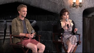 Diagon Alley interviews - Bellatrix Lestrange, Draco Malfoy