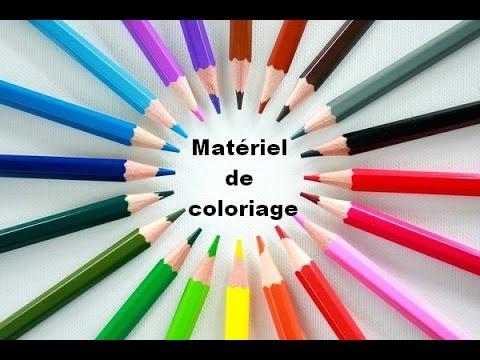 Materiel De Coloriage Presentation Complete Youtube