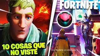 TOP 10 HIDDEN SECRETS OF *TRAILER* SEASON 9 FORTNITE *SKIN NEXUS*