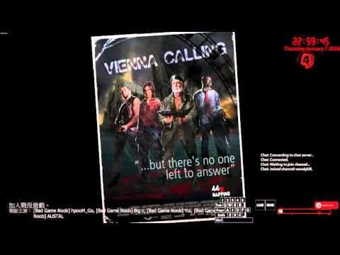 07/1/2016 Woody from Hong Kong: L4D2 - Vienna Calling 1 with Yui, Big C and Austal