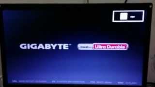 How to Update BIOS Gigabyte Motherboard GA Z87M-D3H