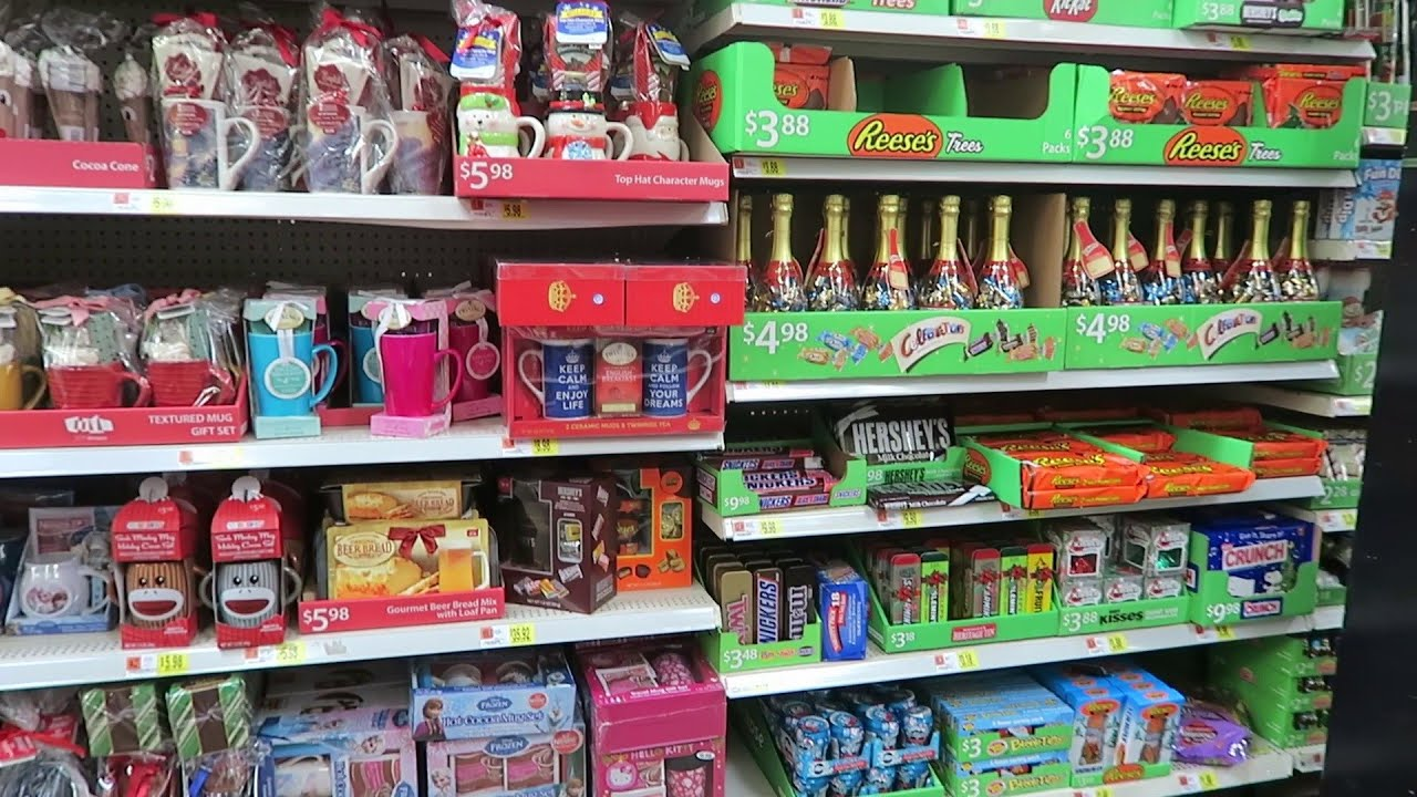 christmas candy aisle at walmart 2015 youtube - Christmas Gifts Walmart