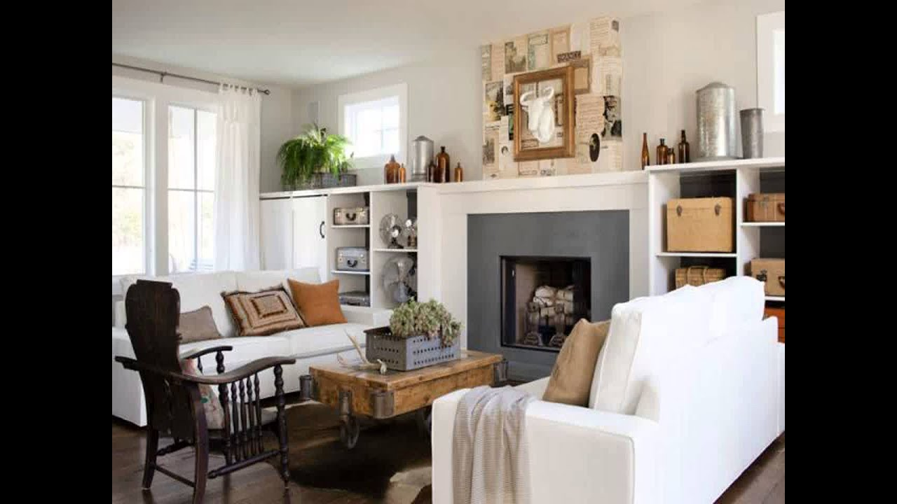 Feature wall ideas living room with fireplace youtube - Feature wall ideas living room with fireplace ...