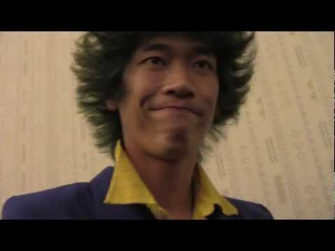 REAL HAIR SPIKE SPIEGEL at Kawaii Kon 2012 (Honolulu, Hawaii) - Cosplayer Nation