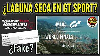 Gran Turismo Sport - ¿ Llega LAGUNA SECA a GT Sport en World Tour Monaco ? ¿Filtración o Fake?