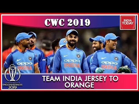 Team India To Sport New Jersey For England Clash, To Wear Orange Kit On June 30