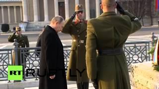 Hungary: Putin honours Budapest