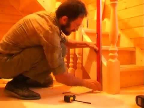 Деревянные лестницы Томск Изготовление и установка