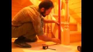 Деревянные лестницы Томск Изготовление и установка(, 2014-10-14T04:48:10.000Z)