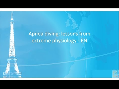 SRLF 2014 - Apnea diving: lessons from extreme physiology - W. ZAPOL