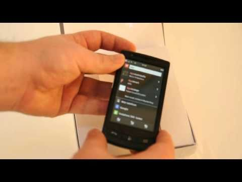 Vodafone 360 Samsung H1 unboxing