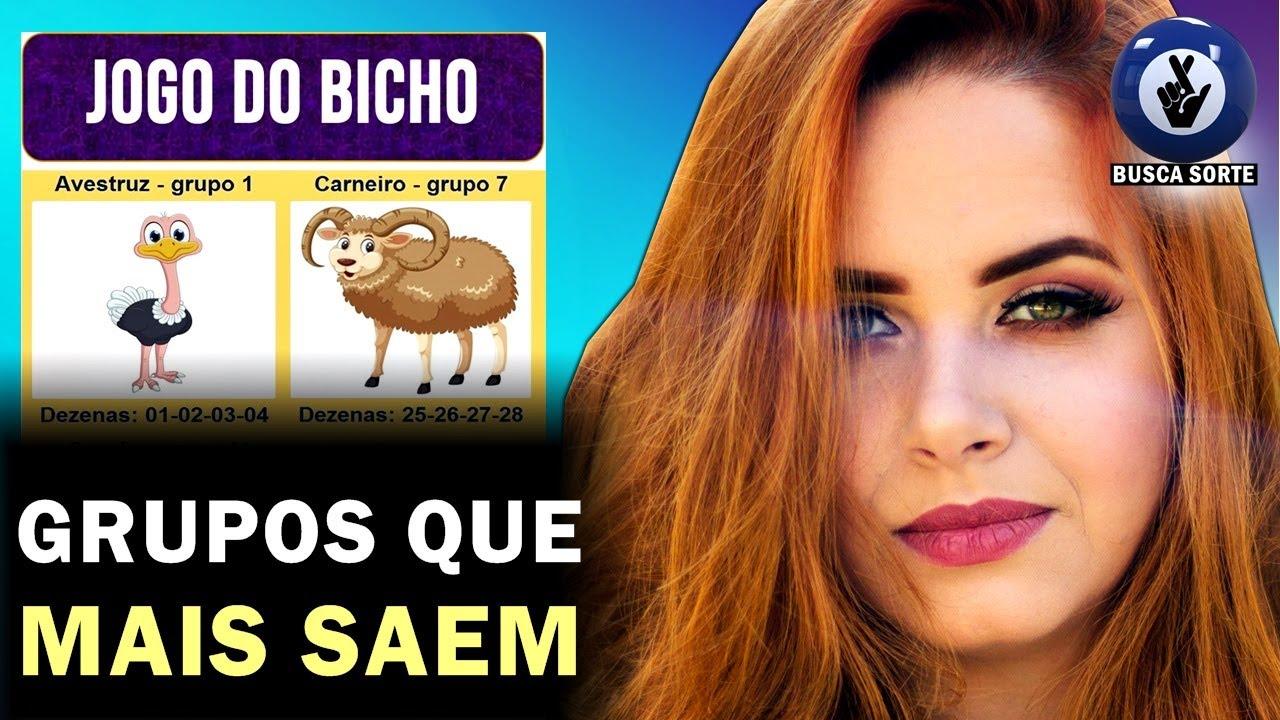 6 GRUPOS PARA VOCÊ GANHAR NO JOGO DO BICHO!