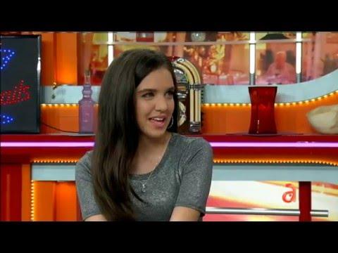 Entrevista a la estrella de Nickelodeon Lili Mar en El Happy Hour  América TeVé