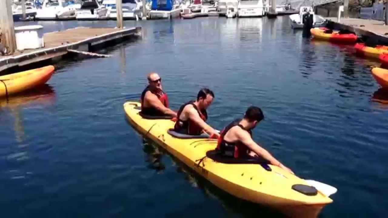 Triple Kayak Roll