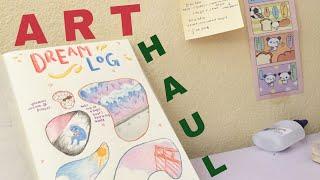 stationery haul !! - stickerrific 💸