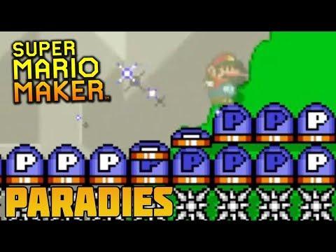 Super Mario Maker: P-Switch Paradies | MineZoneGermany