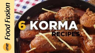 6 Korma Recipes By Food Fusion (Eid Special Recipe)