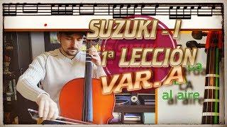 🎻 Suzuki Cello Book 1 | Lección 1ª - Twinkle, Twinkle: va…