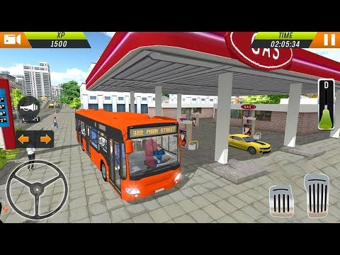Euro Bus Driving Simulator 2018 (by Racing Games) Android Gameplay [HD]
