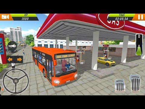 यूरो बस ड्राइविंग सिम्युलेटर 2018 (रेसिंग खेल से) एंड्रॉयड गेमप्ले [HD] thumbnail