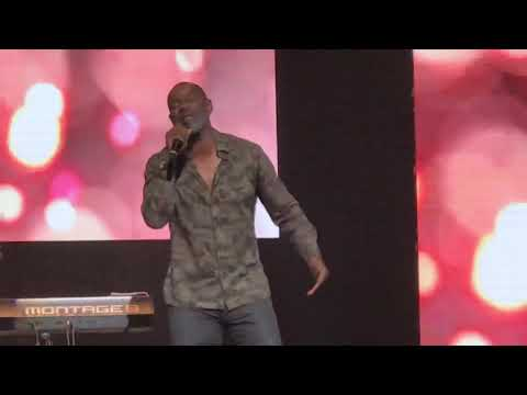 "Brian McKnight Live! Sings His Hits ""One Last Cry""&""Back At One"""