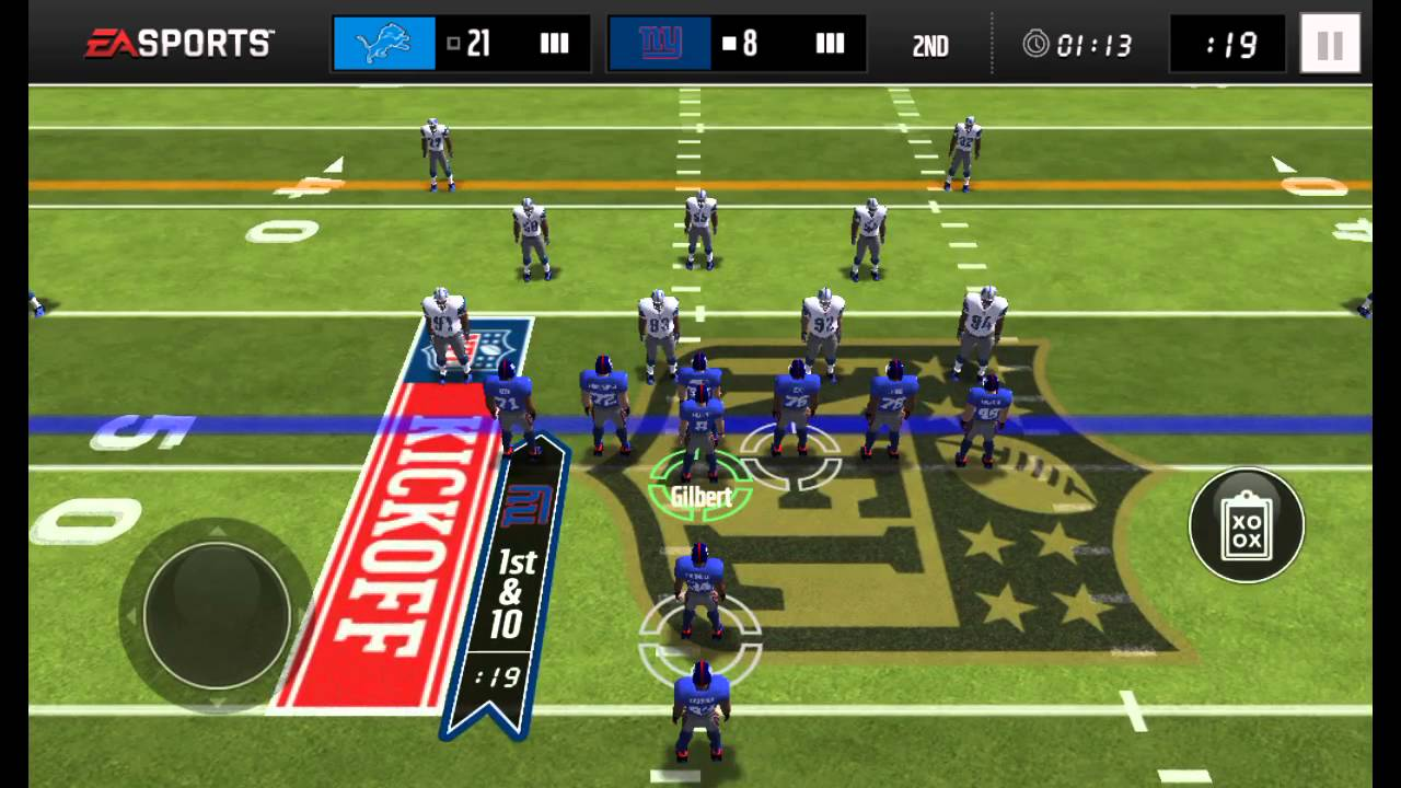 Madden mobile gameplay 2016 - YouTube