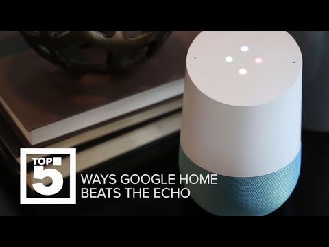 How the Google Home is better than the Amazon Echo (Top 5)