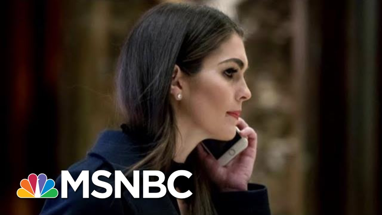 Hope Hicks to Return to the White House After a Nearly Two-Year ...