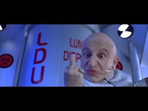 Austin Powers and Mini Me Fight Scene